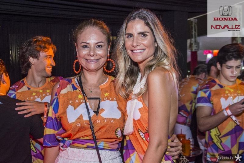 Milena Lima e Paula Pinto
