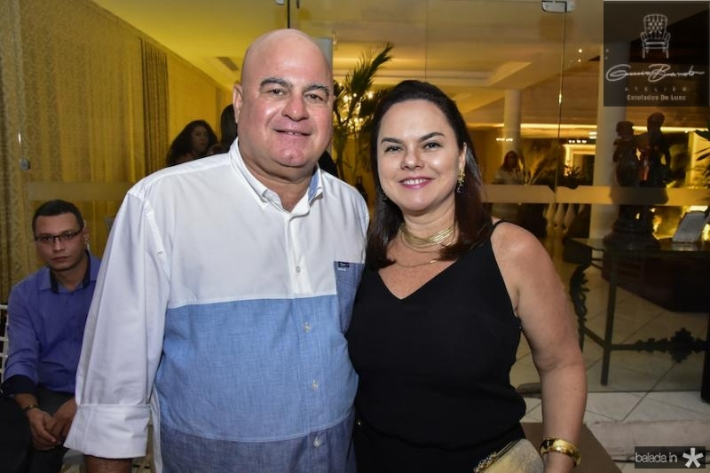 Luciano e Denise Cavalcanti