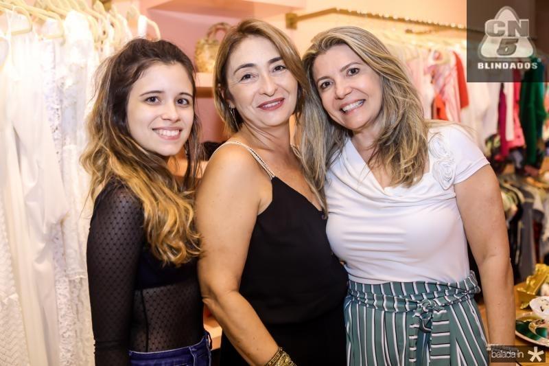 Lilia Soares, Sandra Dias e Rosangela Vasconcelos