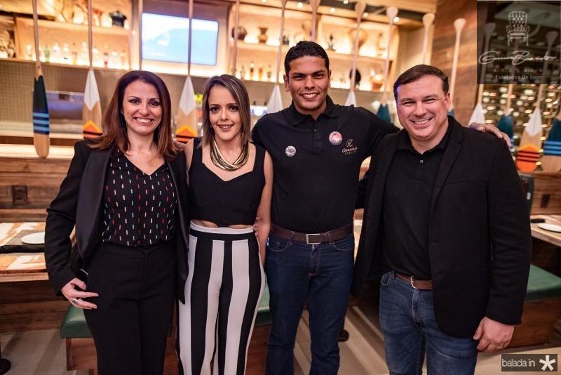 Cristina Castro, Manoela Correa Cristiano Sergio e Wendel Antunes