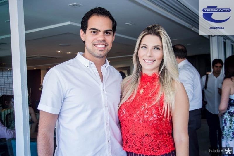 Arthur Eleuterio e Karen Vasconcelos