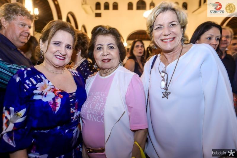 Auricelia Queiros, Edir e Stela Rolim
