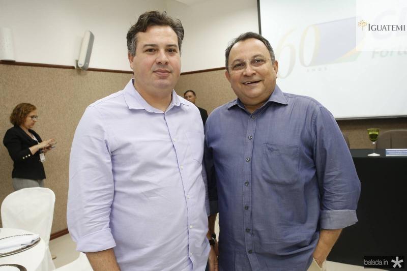 Samuel Dias e Moacir Maia