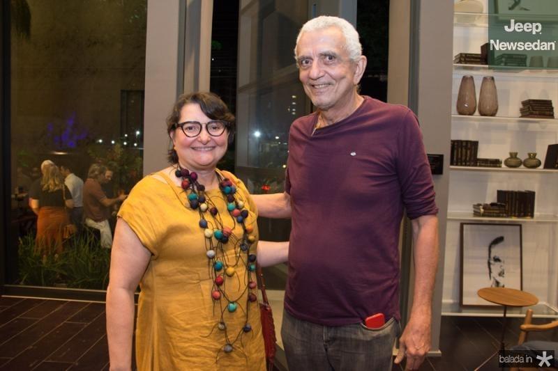 Herminia Lopes e Atilano de Moura