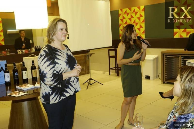 Gabriela Fialho e Claudia Marques