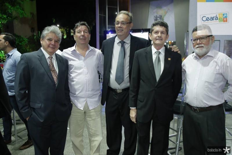 Chico Esteves, Heitor Studart, Jose Dias, Agostinho Alcantara e Marcos Albuquerque