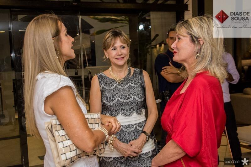 Tereza Porto e Daniela Gentil e Andrea Pontes