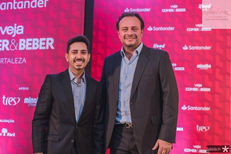 Felipe Adjafre e Adriano Nogueira