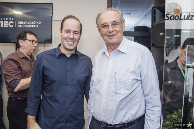 Cesar Ribeiro e Jurandir Pincanso