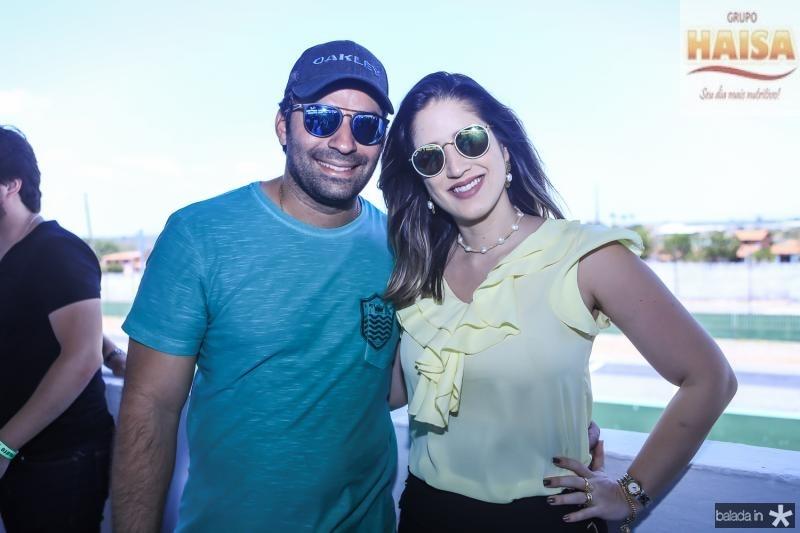 Renato Angelin e Marilia Cavalcante