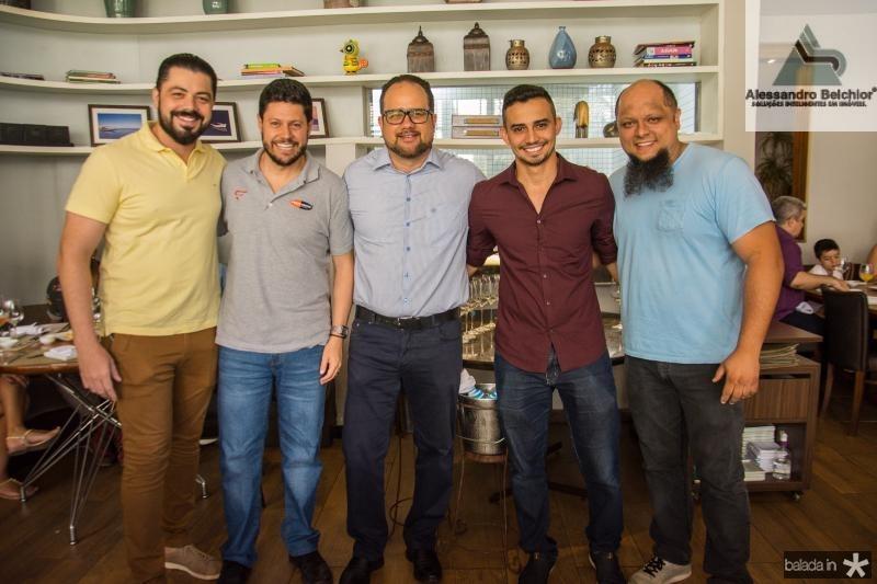 Rodrigo Moraes, Rodrigo Quevedo, Luciano Sousa, Ray Simplissio e Andre Lunarde