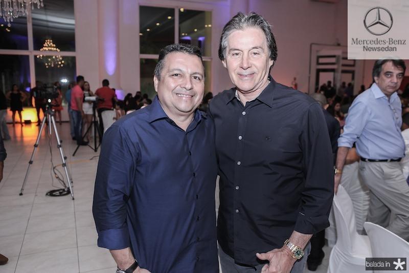 Reginaldo Oliveira e Eunicio Oliveira