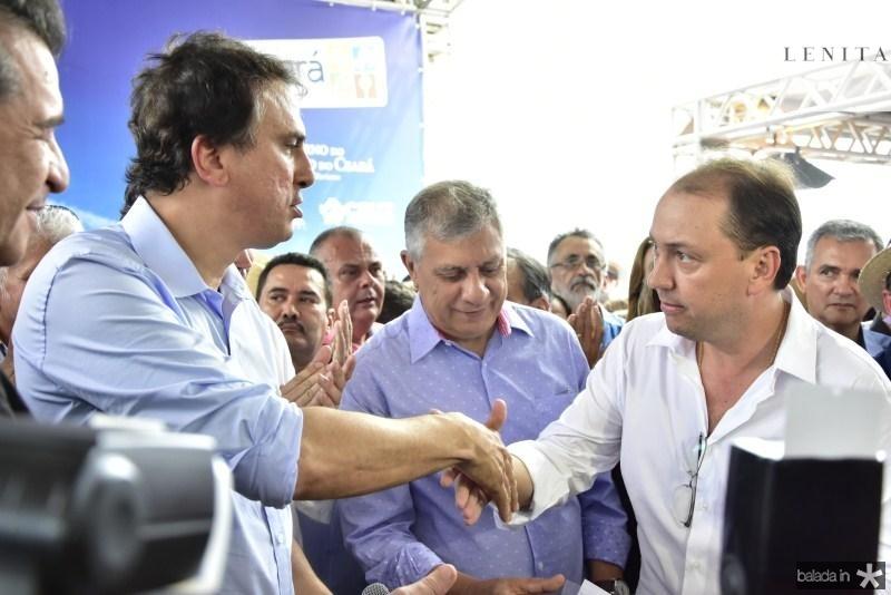 Camilo Santana e Ariston Filho Araujo