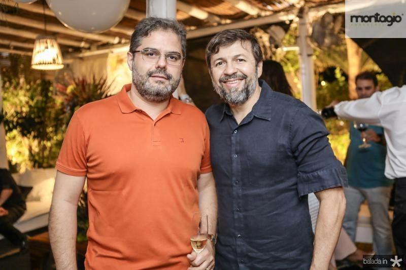 Edson Queiroz Neto e Elcio Batista