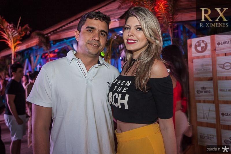 Getulio Pessoa e Jamile Duarte