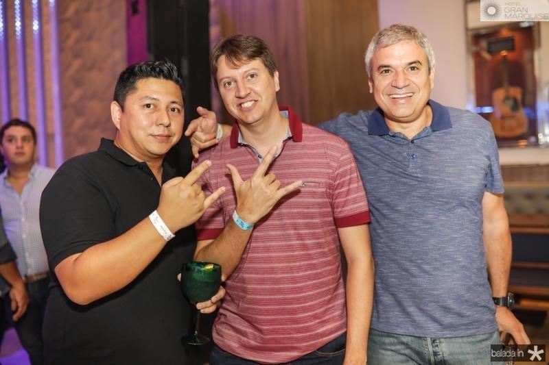 Hugo Oliveira, Fernando Dionisio e Wagner Vasconcelos