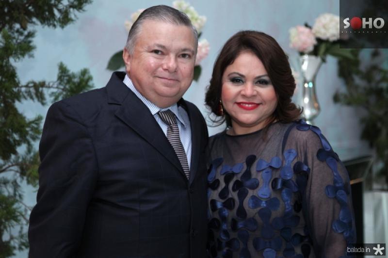Alexandre Adolfo e Mirian Freire