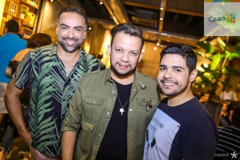 Padua Lopes, Roberto Alves e Bruno Mesquita