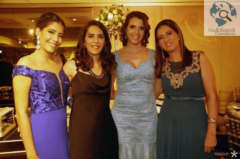 Milla Tavares, Ana Paula e Juliana Lobo e Marilia Tavares