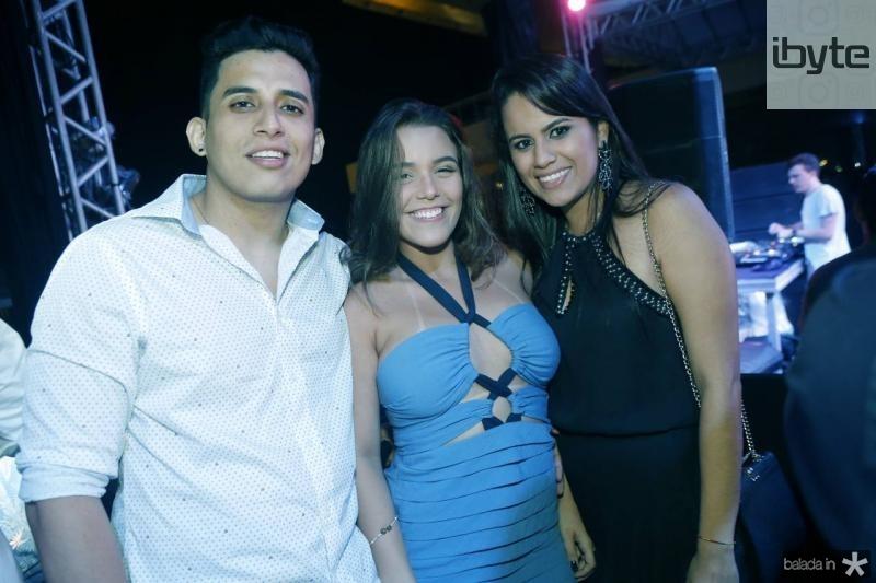 Cristian Andre, Barbara Fernandes e Andrea Garcia
