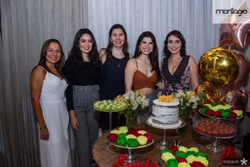 Jadina Dantas, Lorenna Maia, Alice Pinheiro, Themis Briand e Natalia Pacculli