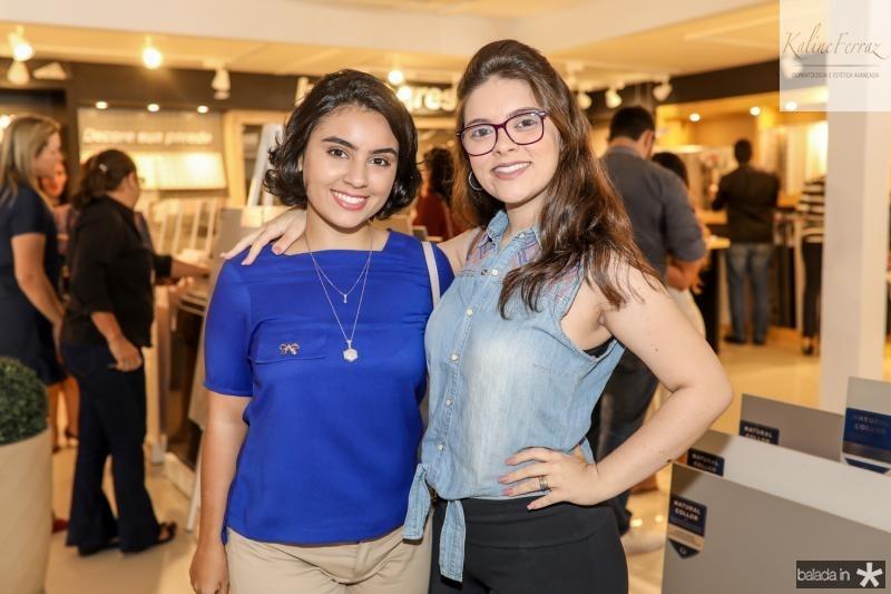 Renara Sampaio e Brenda Medeiros