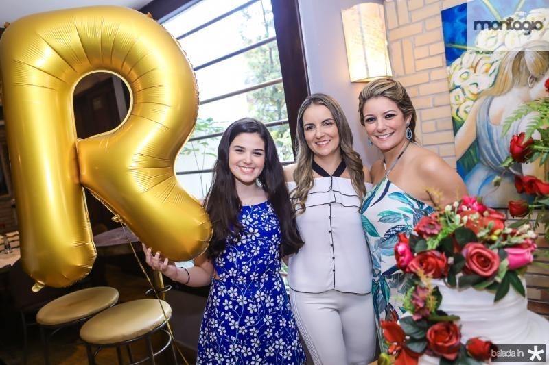 Beatrice e Raquel Vasconcelos e Tatiana Luna