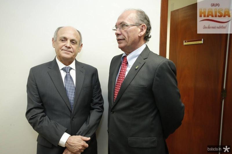 Gladyson Pontes e Nelson Martins