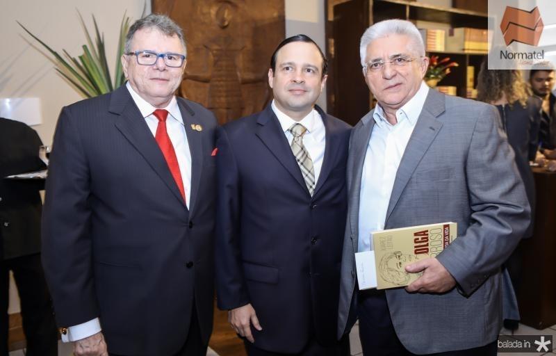 Juarez Leitao, Igor Barroso e Deusmar Queiroz