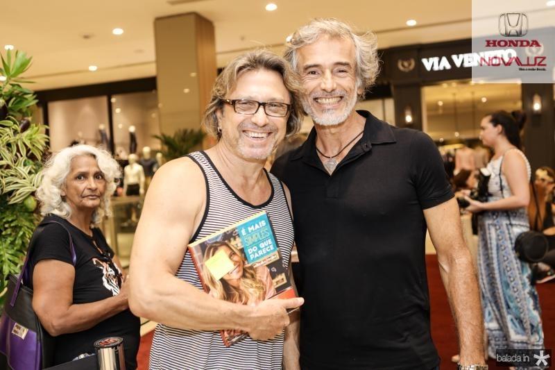 Marcos Caffe e Moacir Junior