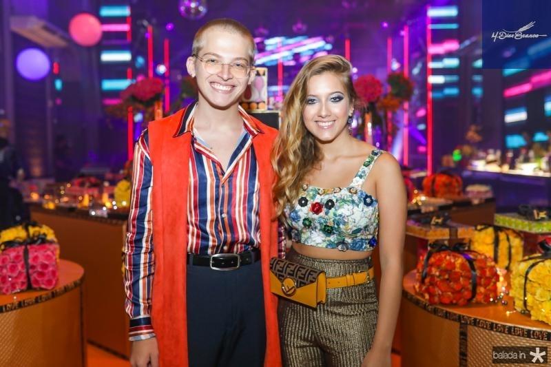 Thiago e Liz Mourao