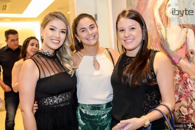 Raissa Bizinelli, Suyane Macedo e Lea Rego
