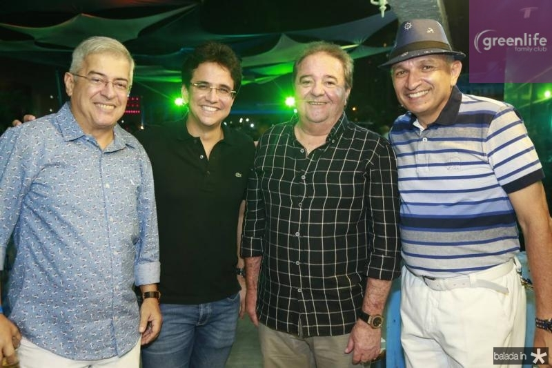 PC Noroes, Pantinha Neto, Chiquinho Aragao e Licinho Correa