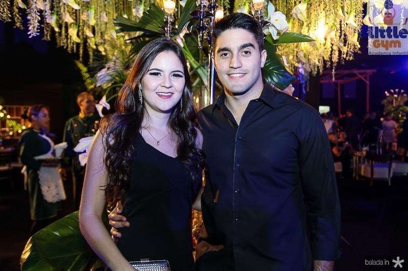 Rafaele de Castro e Vitor Facundo