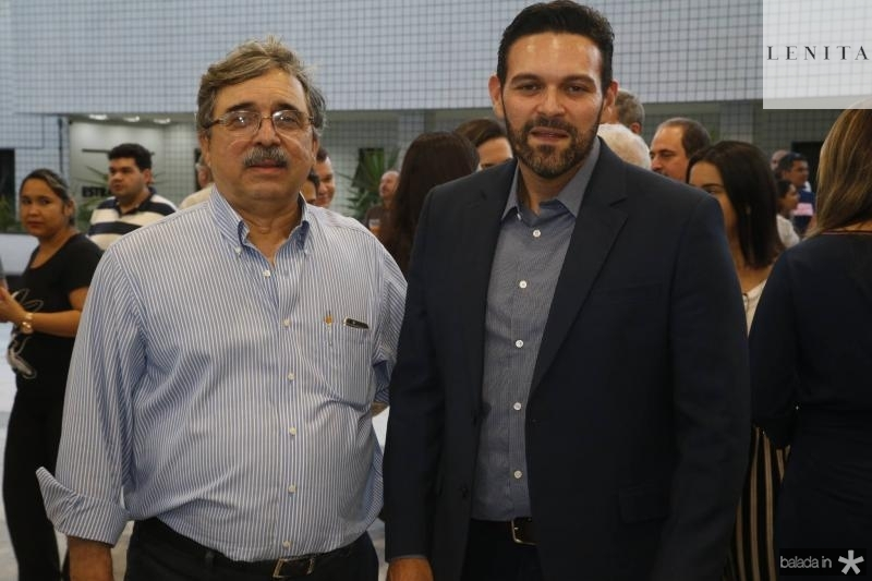 Roberto Sergio e Clovis Holanda