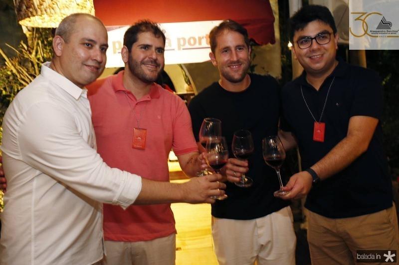 Andre Linheiro, Eduardo Castelao, Rodrigo Frota e Rolf Campos 2