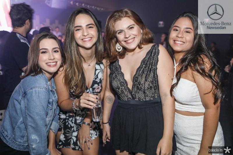 Eduarda Maia, Tami Cavalcante e Tais Mindelo e Cecilia Vieira
