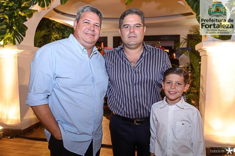 Bob Santos, Edson e Marco Queiroz