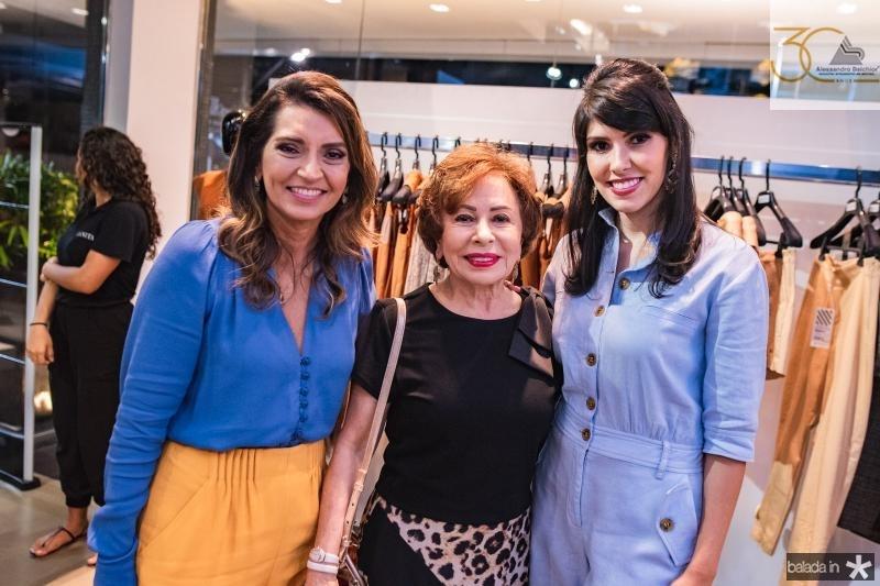 Marcia Travessoni, Tane Albuquerque e Flavia Laprovitera