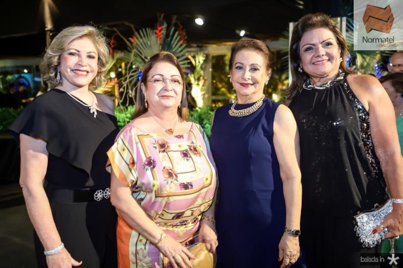 Fatima Pita, Mana Luna, Vania Audiguere e Simone Guimaraes