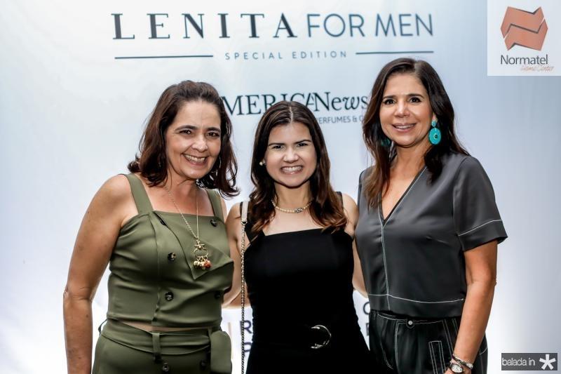 Giana Studart, Ticiana Brigido e Maria Lucia Negrao