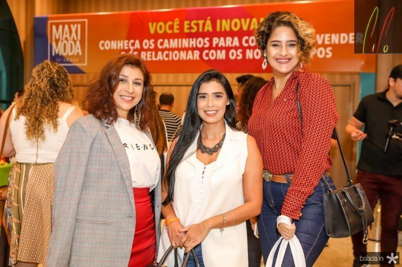 Patricia Porto, Greice Matias e Rafaella Oka