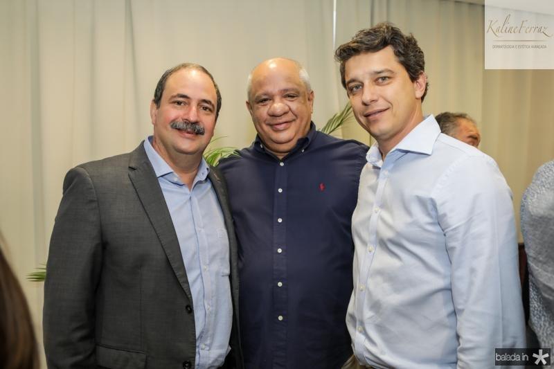 Andre Holanda, Pedro Alfredo e Andre Siqueira