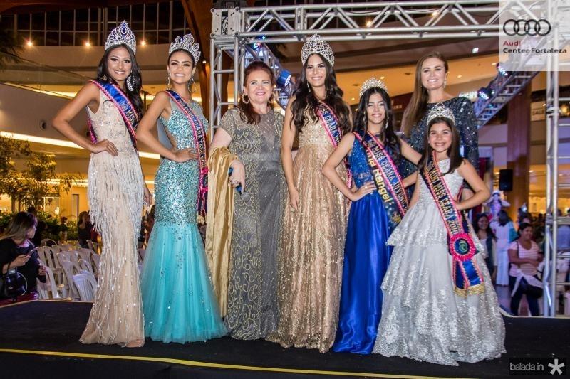 Larissa Damasceno, Isabelle Rodrigues, Claudia Reboucas, Barbara Prado, Marina Rangel, Glaucia Tavares e Giovanna Aguiar