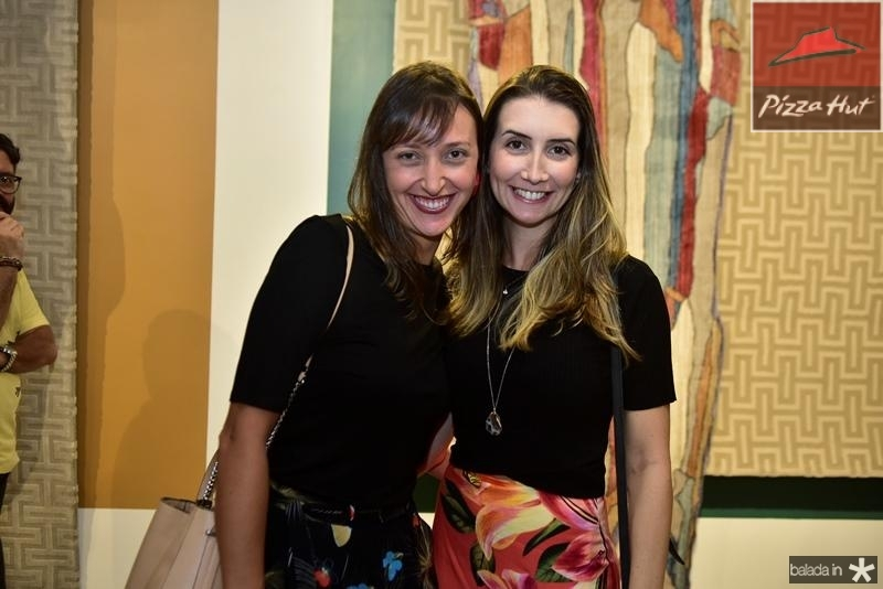 Raquel Ardizzoni e Sara Velloso