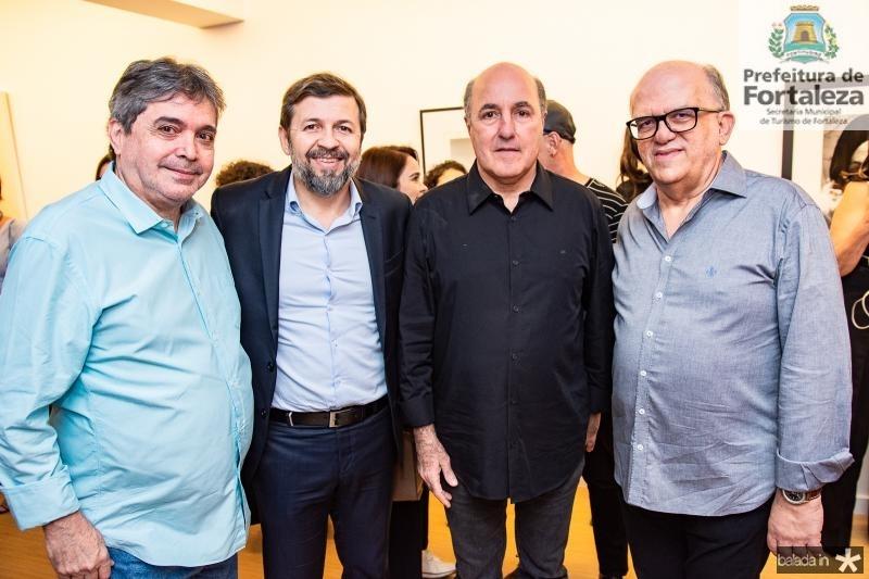 Totonho Laprovitera, Elcio Batista,  Silvio Frota e Fernando Ximenes