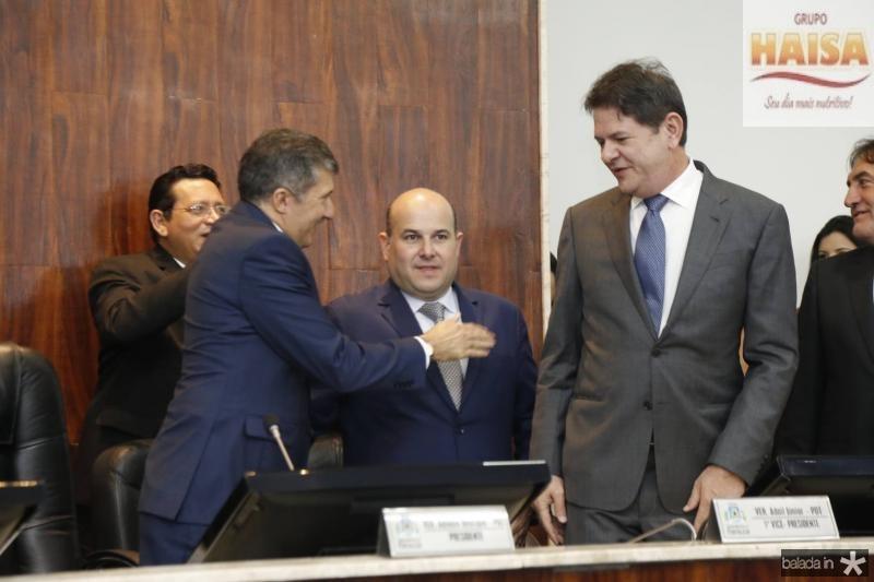 Antonio Henrique, Roberto Claudio e Cid Gomes 1