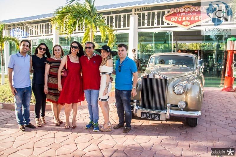 Gaudencio Junior, Talita Carneiro, Gleyce Lucena, Glaucia Ferrer, Gaudencio Lucena, Ingrid Lucena e Marcos Freire