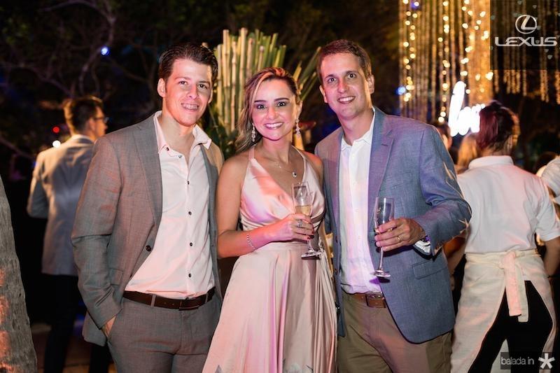Antonio Melo, Celina e Bruno Tigre