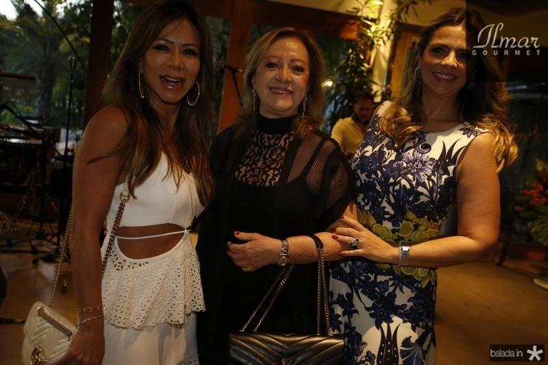 Sakie Brookes, Tania Teixeira e Tais Pinto 1